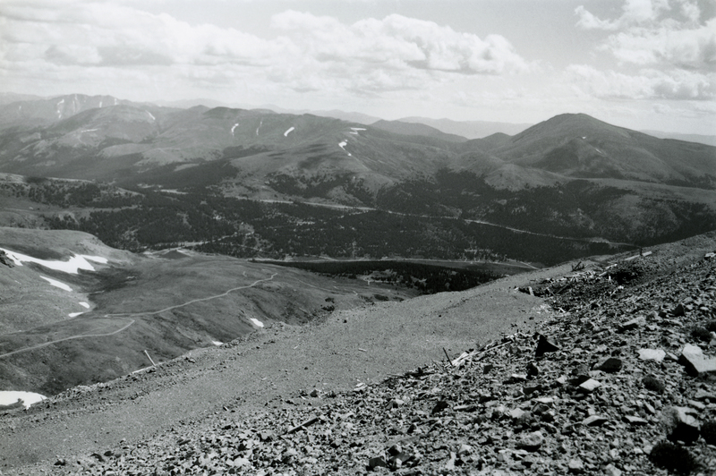 Area surrounding Moose Mine on Mount Bross, in Park County, Colorado, 1996