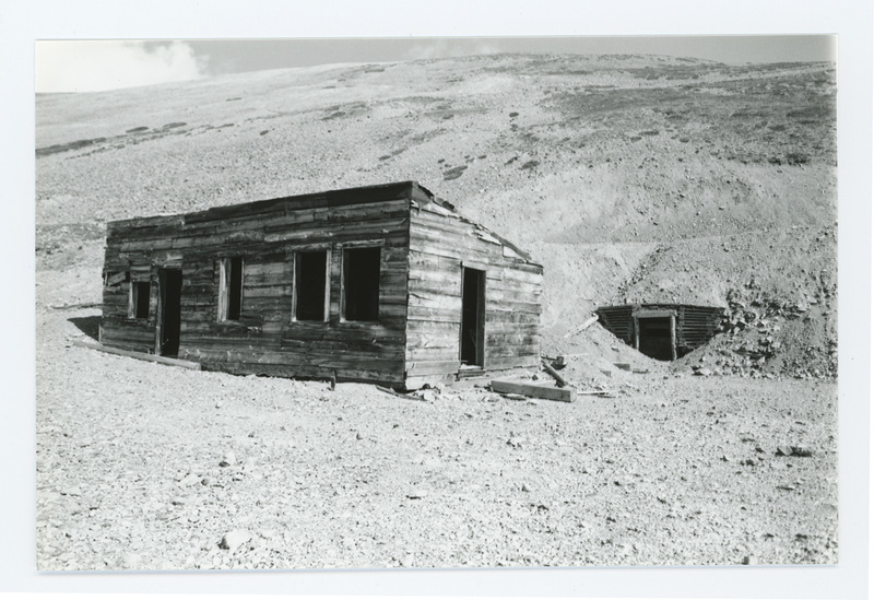 Dolly Varden Mine entrance, 1996