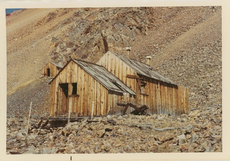 Portal house on Mt. Bross at Buckskin Gulch in 1971