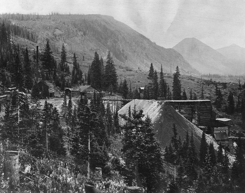 Hock Hocking Mine near Alma, Colorado, date unknown