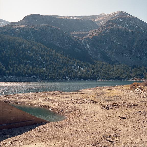 Montgomery Reservoir, Park County, Colorado, October 13, 2019<br />