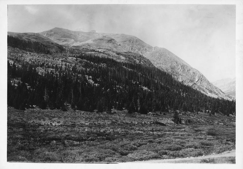 North Peak of Mount Bross circa 1930s-1940s